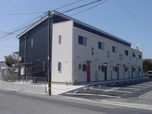 豊橋市大脇町 賃貸アパート新築工事