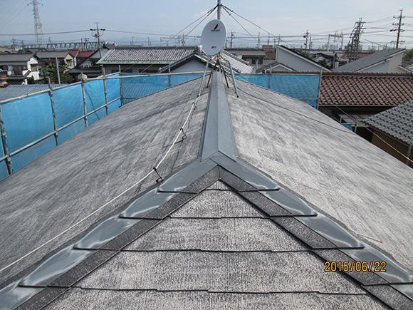スレート屋根の塗装/屋根・外壁リフォームイメージ2