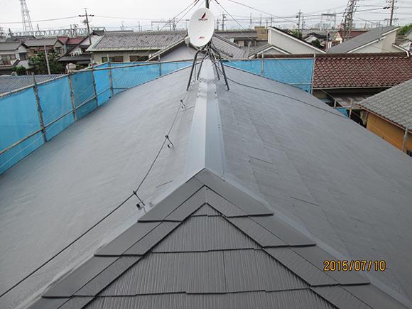 スレート屋根の塗装/屋根・外壁リフォームイメージ1