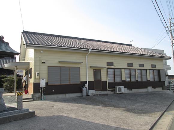 駒形町公民館外装工事イメージ6