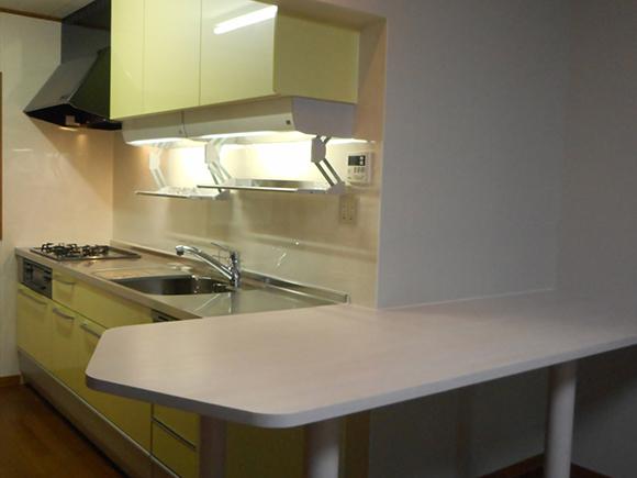 受け継いだ想い出の家/キッチンリフォームイメージ1