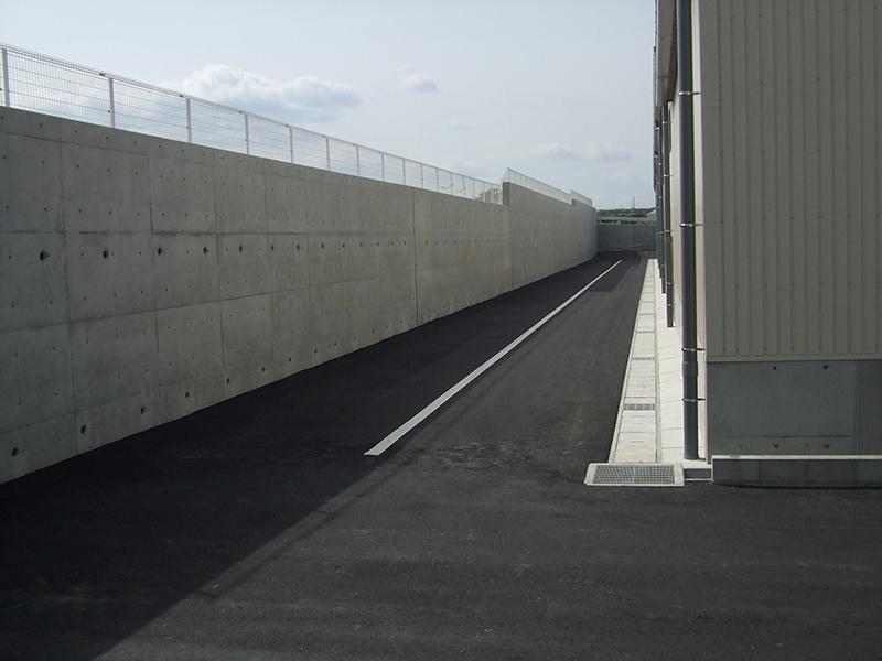 JA豊橋花き集出荷場用地造成工事イメージ5
