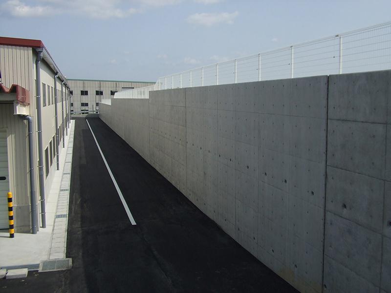 JA豊橋花き集出荷場用地造成工事イメージ2