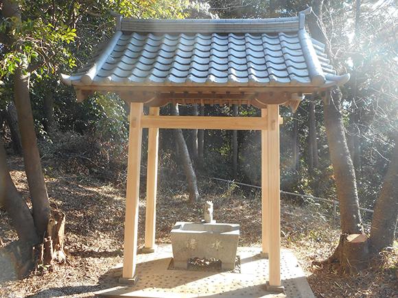 本宮神社様 手水舎工事イメージ1