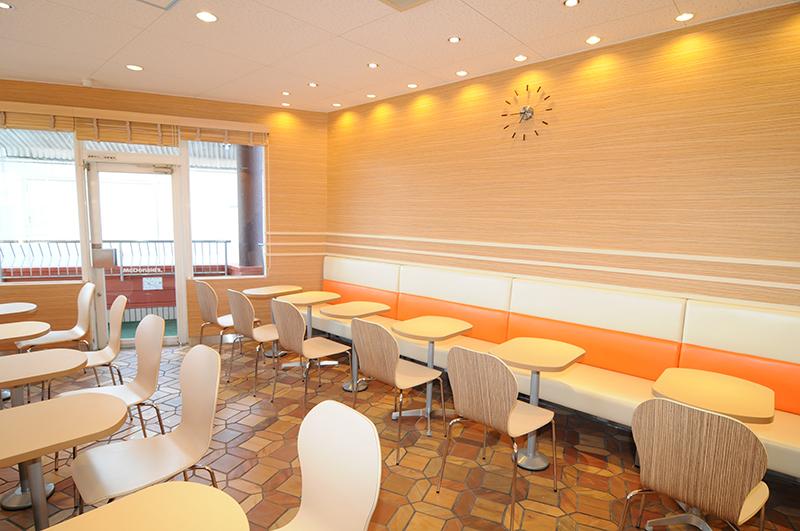 マクドナルド248南岡崎店リモデル工事イメージ3