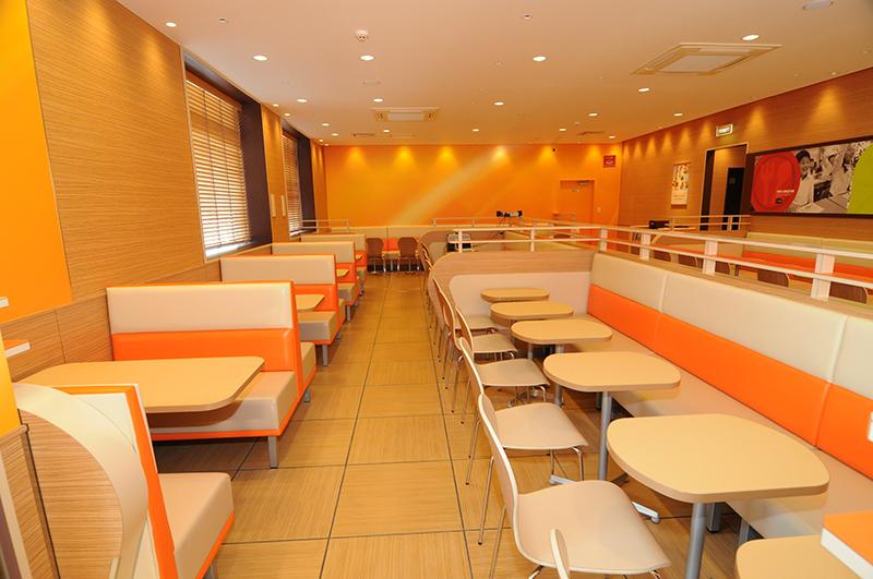 日本マクドナルド1号線小坂井店新築工事イメージ5