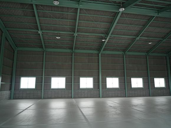 佐藤商店様 農産物出荷作業場新築工事イメージ7