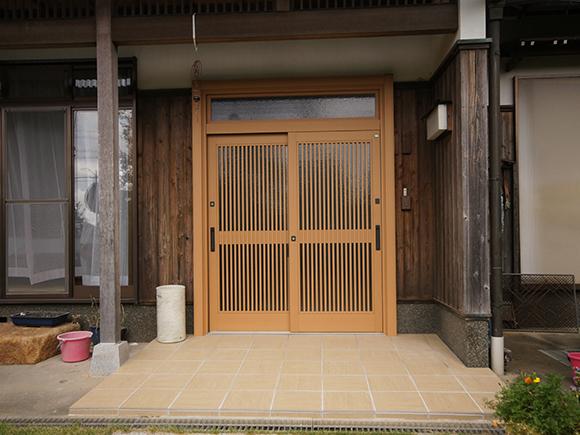 豊橋市小向町 玄関・カーポートリフォームイメージ4