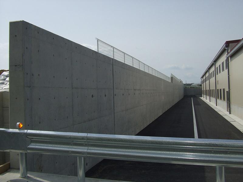 JA豊橋花き集出荷場用地造成工事イメージ4