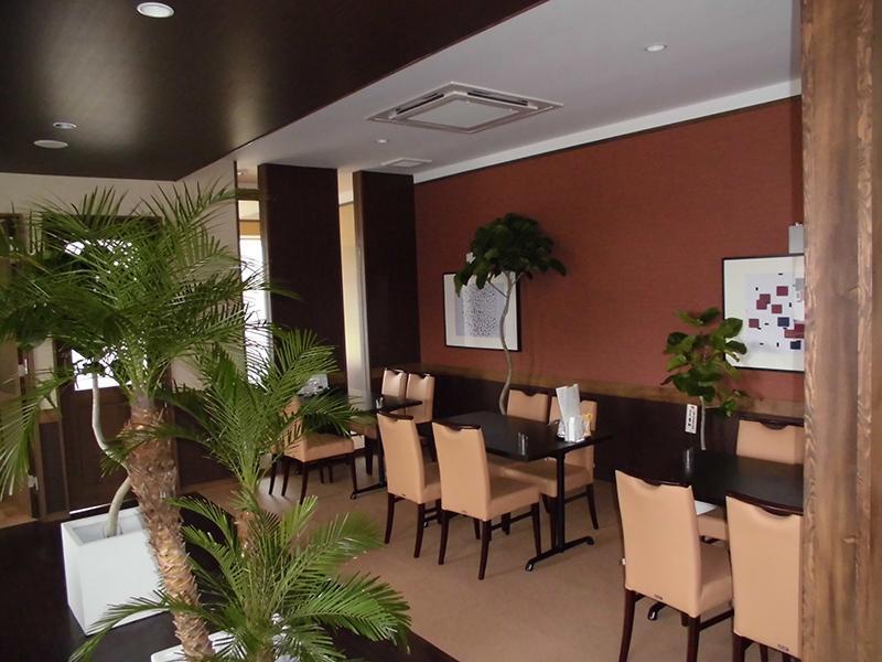 老舗の料亭を南国風レストランに/店舗リノベーションイメージ6