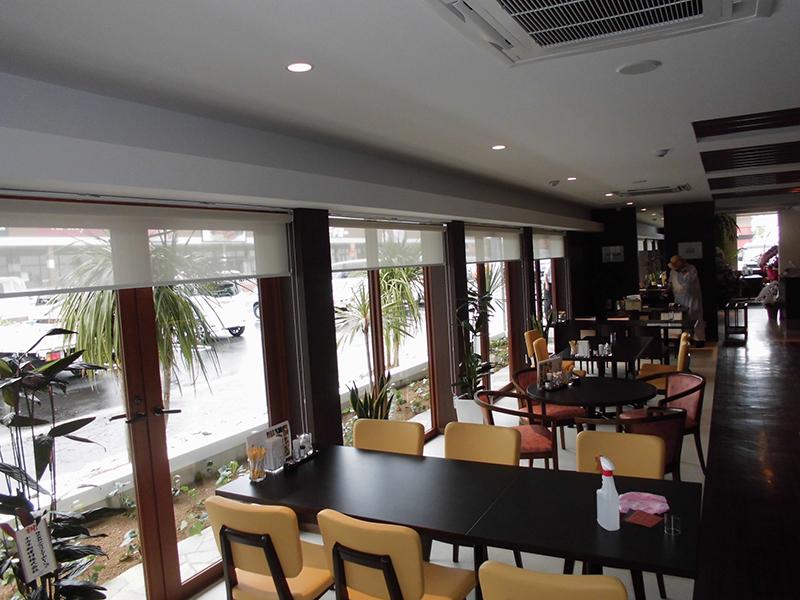 老舗の料亭を南国風レストランに/店舗リノベーションイメージ4