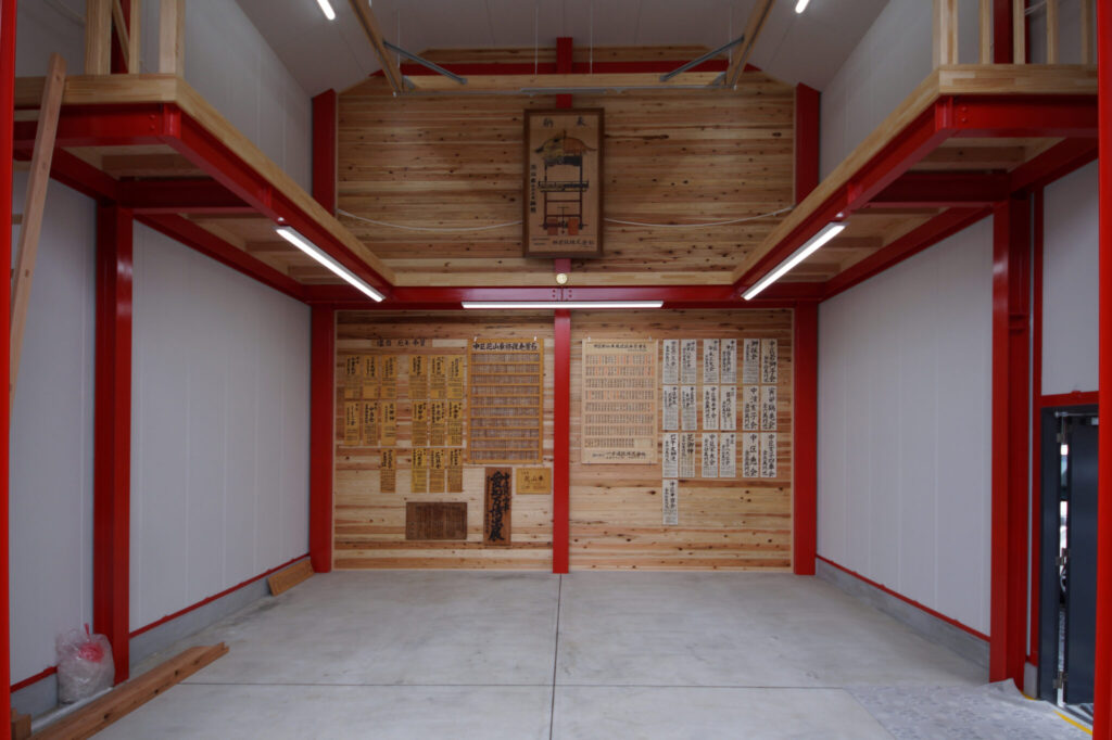 蒲郡市 中区山車蔵 新築工事イメージ3